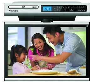 Venturer Undercabinet Kitchen LCD TV/DVD Combo No HDMI In (New 1 Year Warranty)