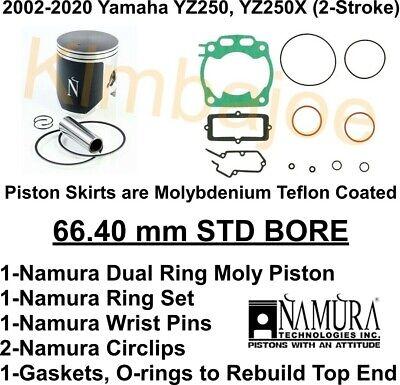 Standard Bore 66.35mm~2002 Yamaha YZ250~Namura Technologies Inc. Piston Kit