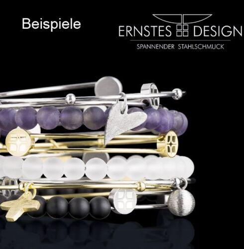 Serio Design brazalete pieza de oro a364 acero inoxidable recubierto Rosé Bangle remolque