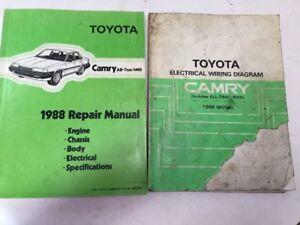 1988 Toyota Camry All-Trac 4WD Oem Repair Manual ...