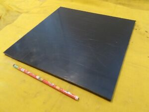 "BLACK DELRIN BAR machinable plastic flat sheet bar stock  3//8/"" X  1 1//2/"" X 12/"""