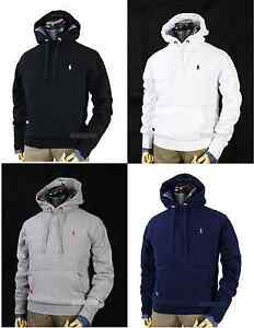 NWT Polo Ralph Lauren Men's Pony Fleece Pullover Hoodie Sweatshirt ...