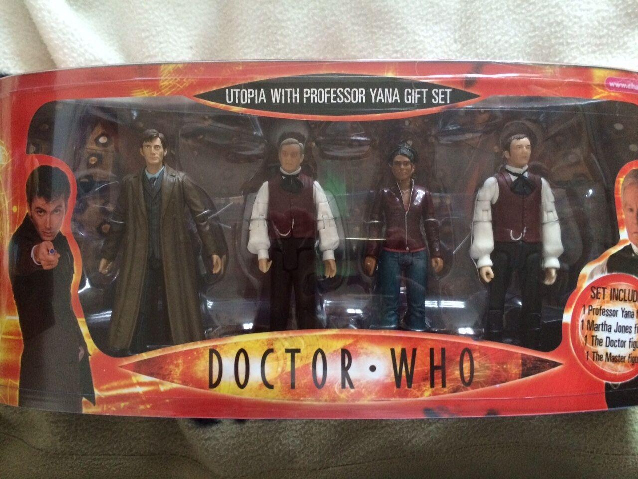Doktor, die utopie mit professor yana, martha, 10. doktor, meister festgelegten zahl