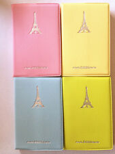 Smart Cute pastel cover Pretty Eiffle tower lined small notebook diary memo
