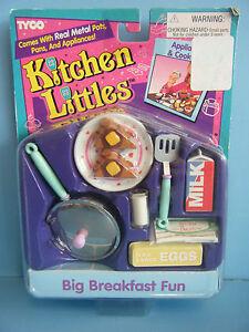 Barbie Kitchen Littles Big Breakfast Fun Set New 43302200860 Ebay