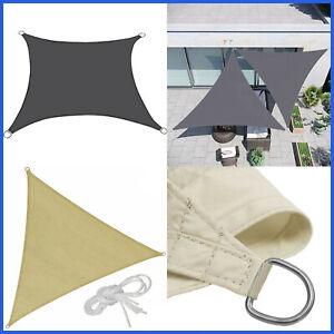 Tenda A Vela Ombreggiante Impermeabile Telo Parasole Sole Ombra Per Giardino