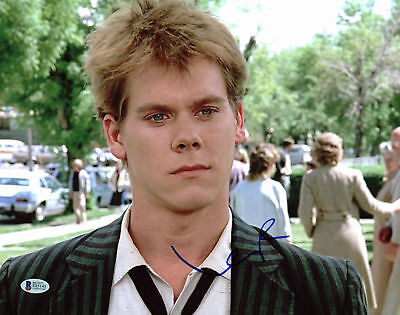 Photographs Forceful Kevin Bacon Footloose Authentic Signed 11x14 Photo Autographed Bas #e85145 Movies