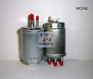 WESFIL FUEL FILTER FOR Ssangyong Rexton R70 2.7L  XDi 2004 04/04-on WCF90
