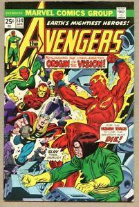 Avengers-134-1975-fn-6-5-Origin-of-the-Vision-Mantis-Gil-Kane-Ultron