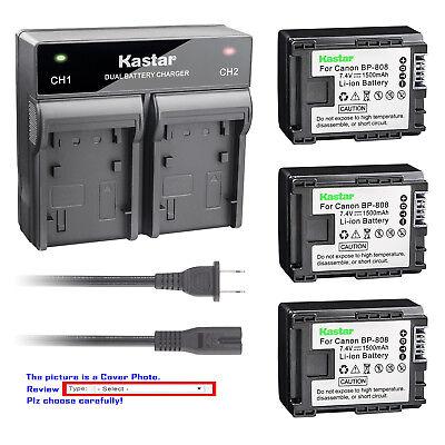 LCD Micro USB Battery Charger For Canon VIXIA HF M30 HF M32 HF M41 Flash Memory Camcorder HF M40 HF M31
