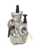 Carburetor 34mm Fits 2 Stroke Racing Flat Slide Gy6 Moped Scooter Carb Us Ship