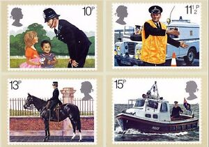GB POSTCARDS PHQ CARDS MINT FULL SET 1979 POLICE PACK 39 10% OFF ANY 5+