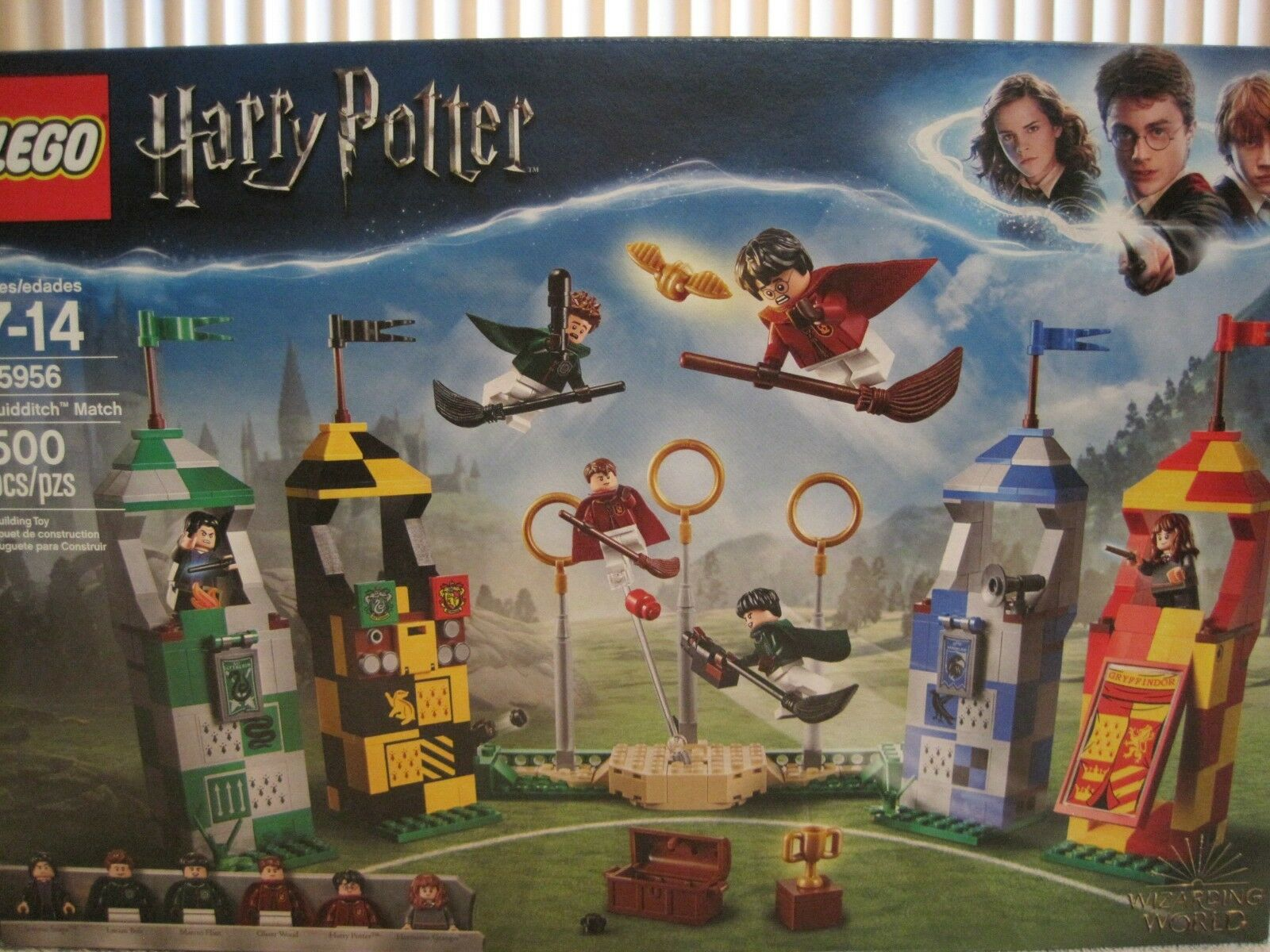 LEGO LEGO LEGO 75956 WIZARDING WORLD HARRY POTTER QUIDDITCH MATCH-NEW-FACTORY SEALED bc9017