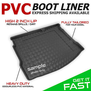 carmats4u To fit B-Max 2012 Fully Tailored PVC Boot Liner//Mat//Tray Black Carpet Insert