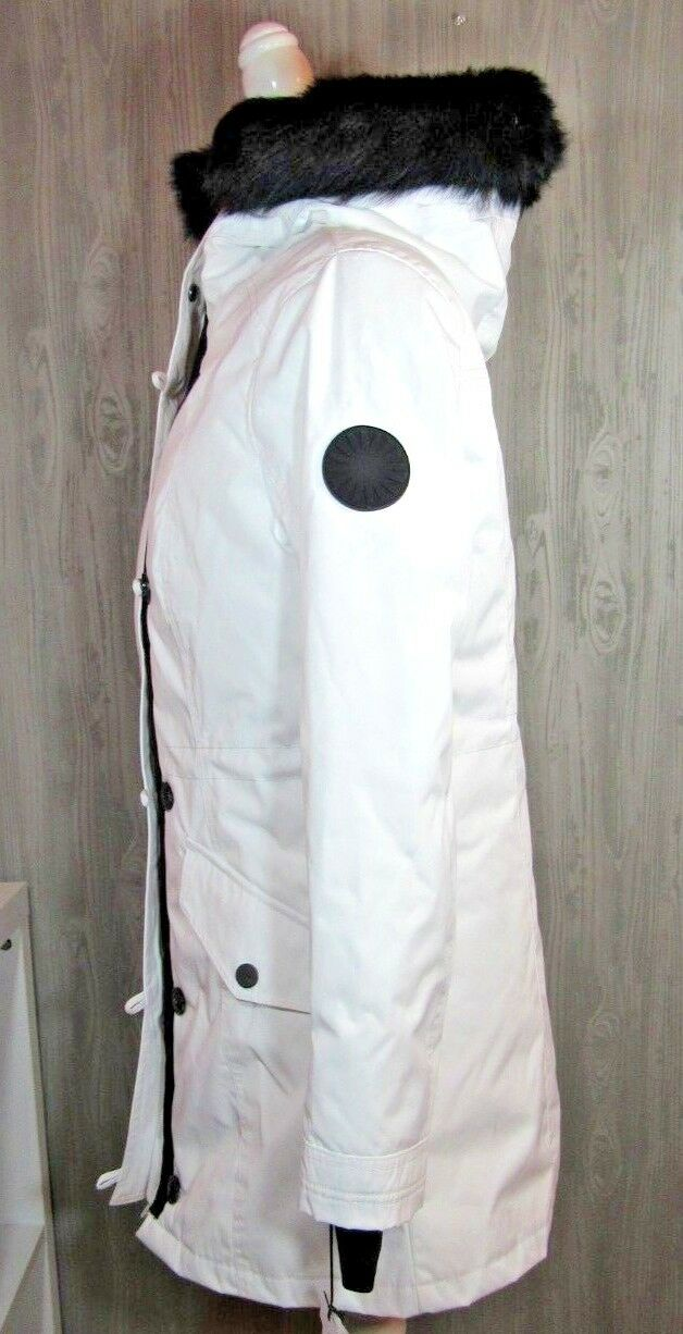 9374d97506b UGG Australia Adirondack Parka 1017640 Toscana Hooded 3 in 1 Removeable  Vest WHT