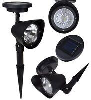 1 X Solar Spot Light Outdoor Garden Lawn Landscape 4-led Spotlight Path Lamp on sale