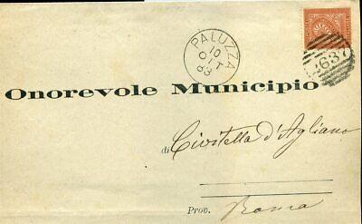 Italien Blg 1883 Mit Nr K1 Paluzza 2637 420090