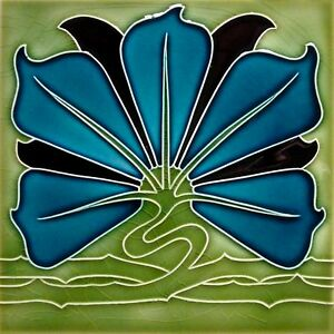 Art Nouveau Reproduction Decorative Ceramic tile 324