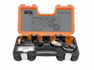 Bahco Professional Holesaw Set 3834 16/51 Sizes: 16-51mm BAHHSSET1651