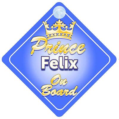 2019 Nuovo Stile Principe Ereditario Felix A Bordo Personalizzata Baby Boy Auto Firmare- Squisita Arte Tradizionale Del Ricamo