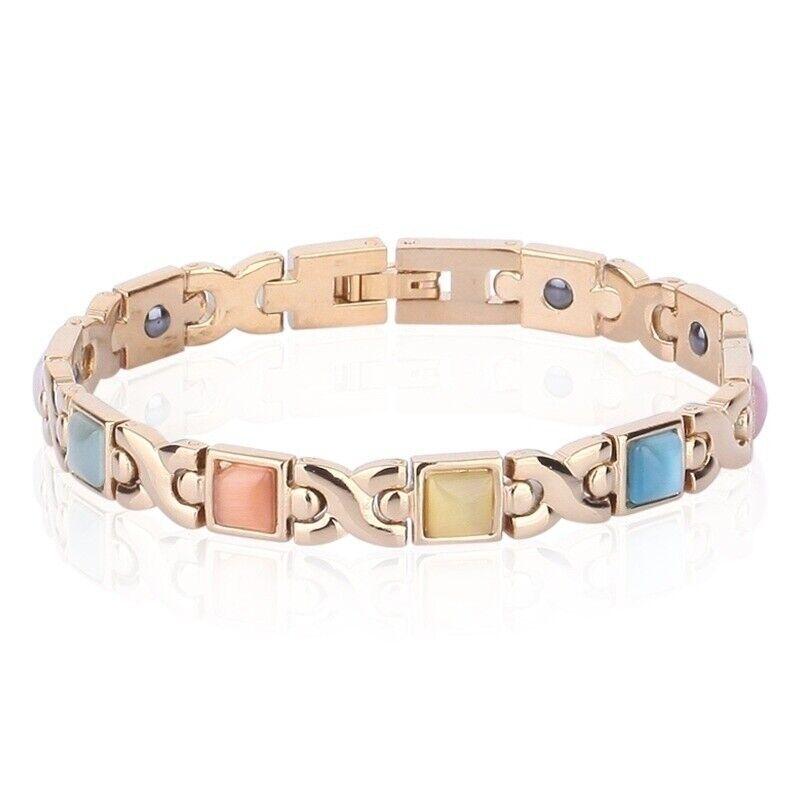 Men Women Therapeutic Energy Healing Magnetic Bracelet Therapy Arthritis Jewelry 8
