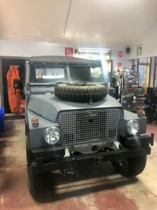 Land Rover, Series 3, Light Weight, Ex Military