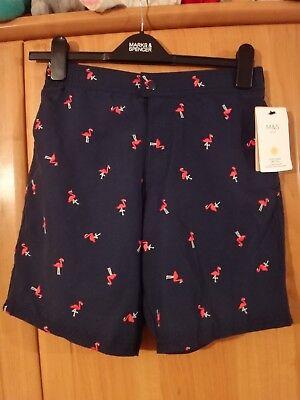 Abile M & S Sunsave Uvp 50+ Navy Shorts Da Bagno Nuovo Con Etichetta Età 11-12-mostra Il Titolo Originale Per Soddisfare La Convenienza Delle Persone
