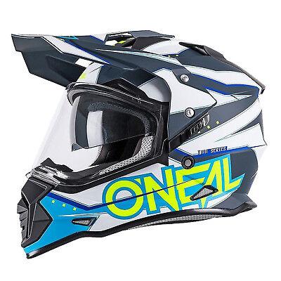 Oneal Sierra 2 Slingshot / Circuit Adventure Motorcycle Full Face Crash Helmet