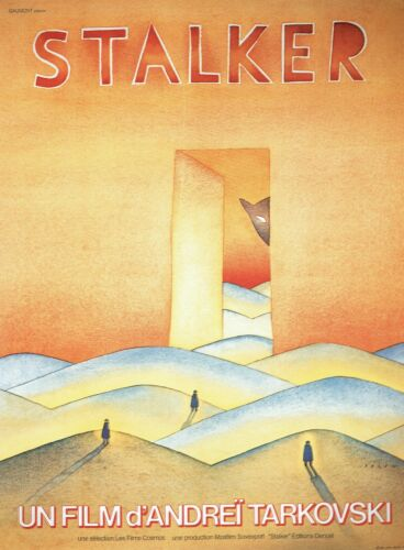 1979 Movie Poster Canvas Picture Art Print Premium Quality Stalker 7 French