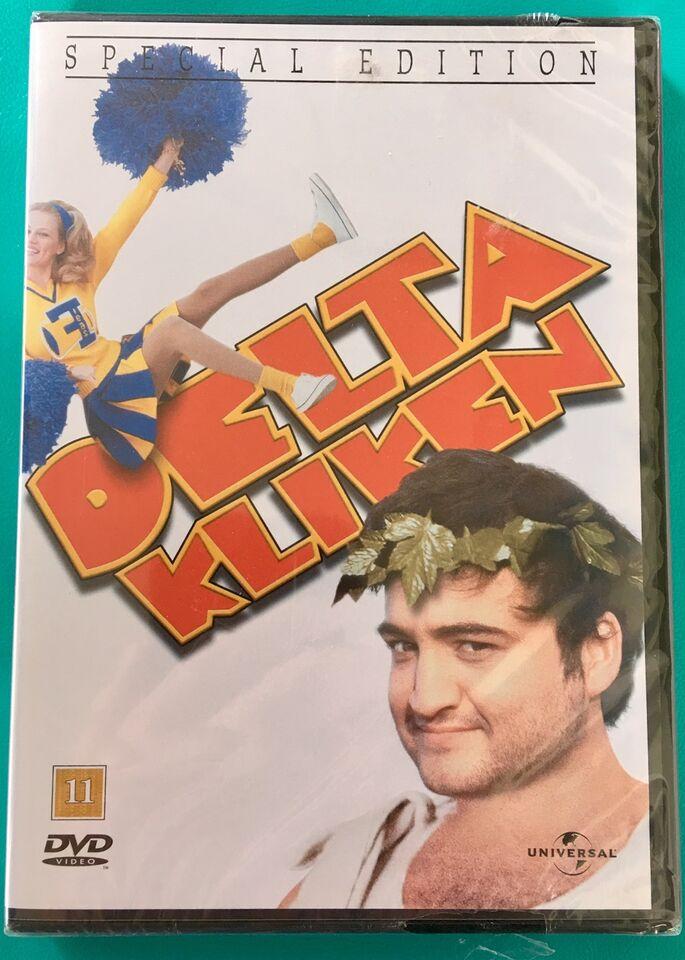 Delta Kliken, DVD, komedie