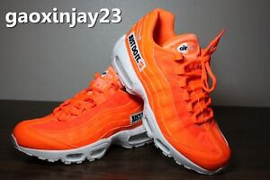 buy popular d54ae 2d863 Image is loading Nike-Air-Max-95-JDI-Orange-Just-Do-