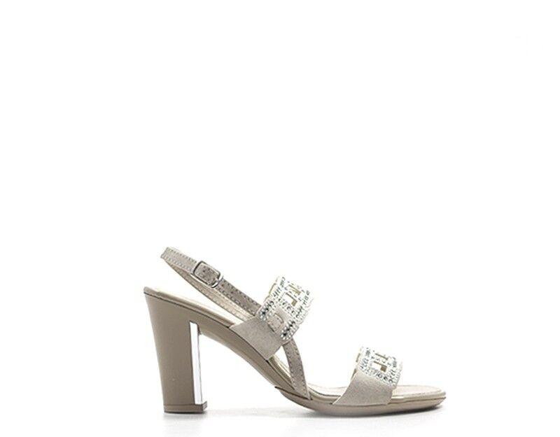 shoes A. Ennie Woman Beige Natural Leather 44407ta
