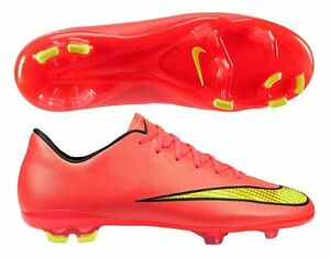 91e930c54e0f Details about NIKE MERCURIAL VICTORY V CR7 FG JR FIRM GROUND SOCCER SHOES  KIDS Hyper Punch