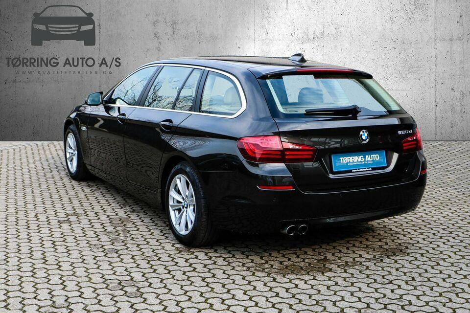 BMW 520d 2,0 Touring aut. Diesel aut. modelår 2016 km 45000