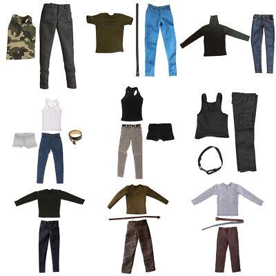 "3pcs 1:6 Action Figure Clothes Underpants for 12/"" Dragon Male Body Costume"