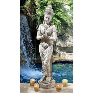 Design-Toscano-35-034-Thai-Teppanom-Beautiful-Being-Statue-Antique-Stone-Finish