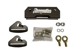 Dragonfire Quick Release Harness Seat Belt Anchor Mounting Mount Kit