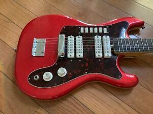 1960's Vintage Eko Condor Electric Guitar made in Italy nice