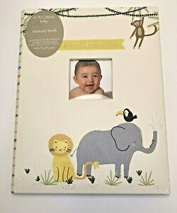 Wild-About-You-Baby-Memory-Book-C-R-Gibson-Baby-book-NEW-Animals