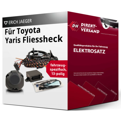 EBA Für Toyota Yaris Fliessheck Typ XP9 Elektrosatz 13polig spezifisch top inkl