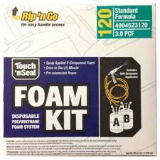 Touch N Seal Spray Foam Roof Insulation Kit 30 Pcf Closed Cell Foam 120 Bf