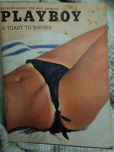 Playboy-June-1962-Very-Good-maybe-better-Condition-Free-Shipping-USA-2-mags