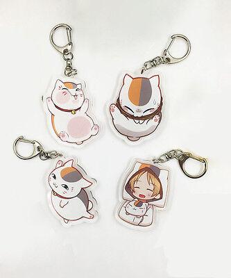 Natsume Yuujinchou Nyanko Sensei Cat Cute Cosplay Keyring Keychain Gift