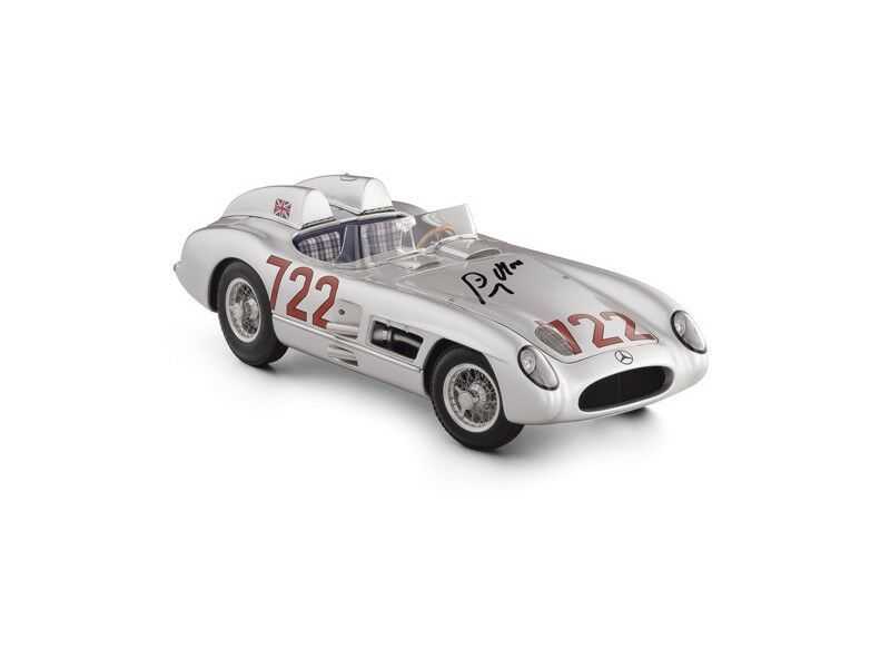 CMC Mercedes 300 SLR Moss 1955 Original Signed Sir Stirling Moss