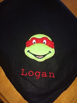 Teenage Mutant Ninja Turtle Personalized Throw