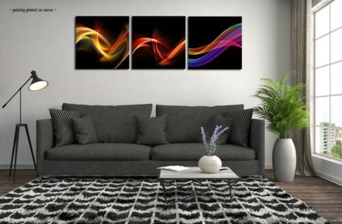 Large Canvas Modern Wall Art Print Painting Colorful Abstract Picture Home Decor
