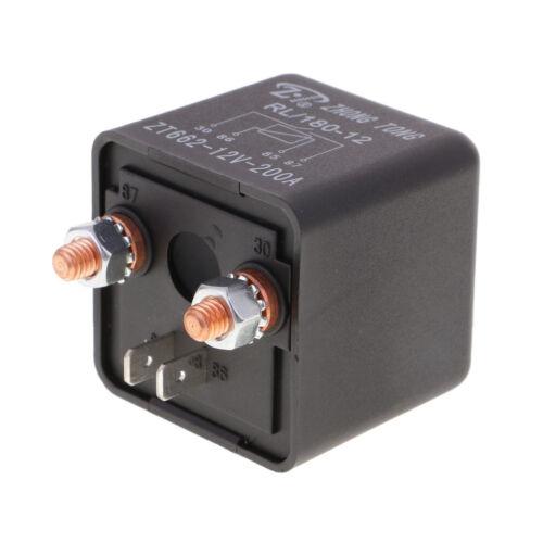 4Pin sobre 200A 12V Batería Aislador Relé de inicio On//Off interruptor de alimentación y de coche