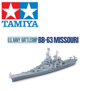 Tamiya 31613 BB-63 Missouri US Navy Battleship Water Line 1 700 Scale Kit