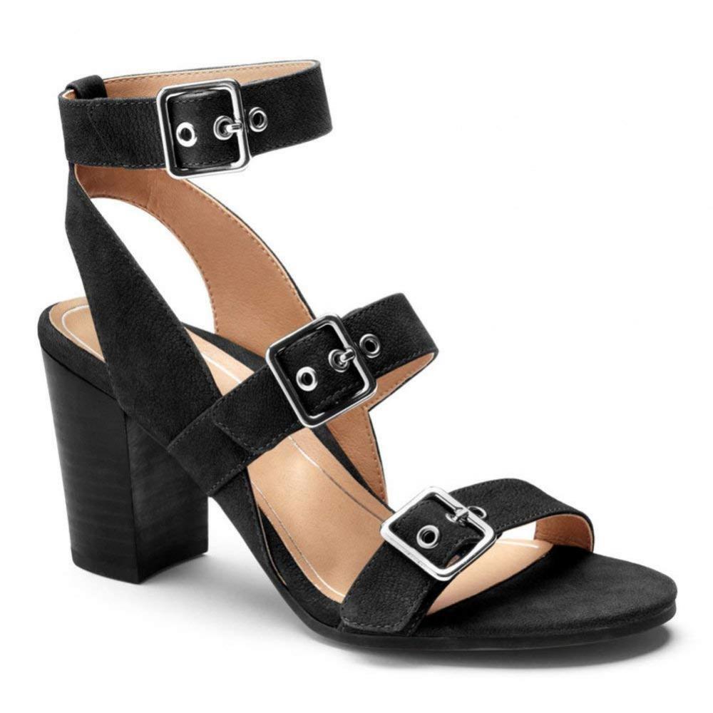 scelta migliore Vionic donna's donna's donna's Perk Carmel Backstrap Heel – Ladies Strappy Dress Sandals...  spedizione veloce in tutto il mondo