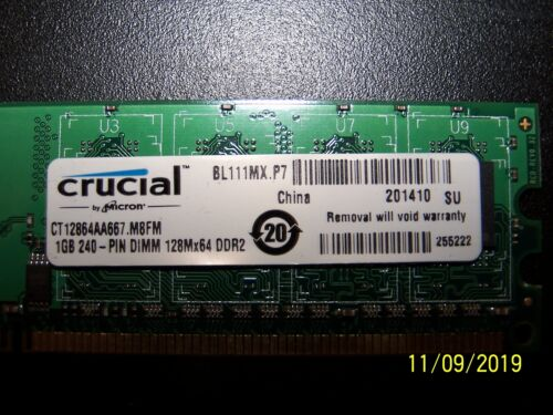 PC2-5300 1GB DDR2-667 ED344526222 RAM Memory Upgrade for The Motion Computing Inc LE Series LE1700 TAA Tablet PC